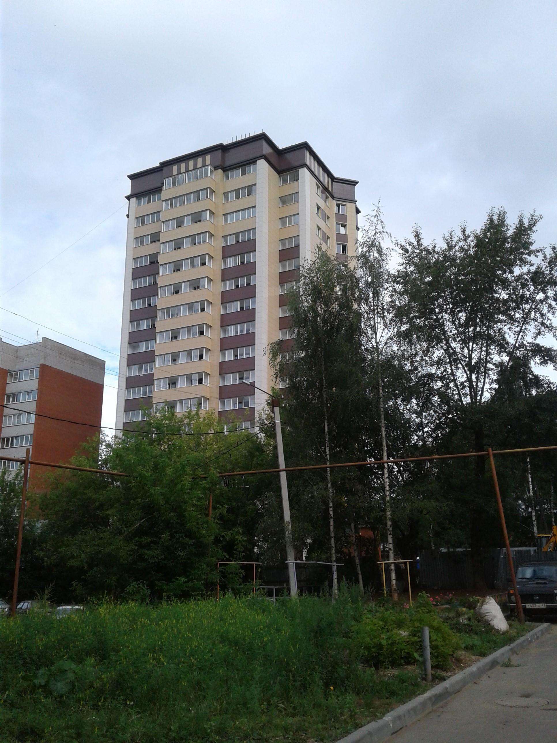 ЖК Богатырь, г. Киров Октябрьский проспект 105А